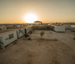 Nearly 80,000 of the Syrians who have escaped the deadly war raging in their country have sought shelter at Jordan's largest refugee camp, Za'atari, where UN Women provides economic empowerment and protection programming for women and girls.
