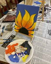 Carolyns H paint6
