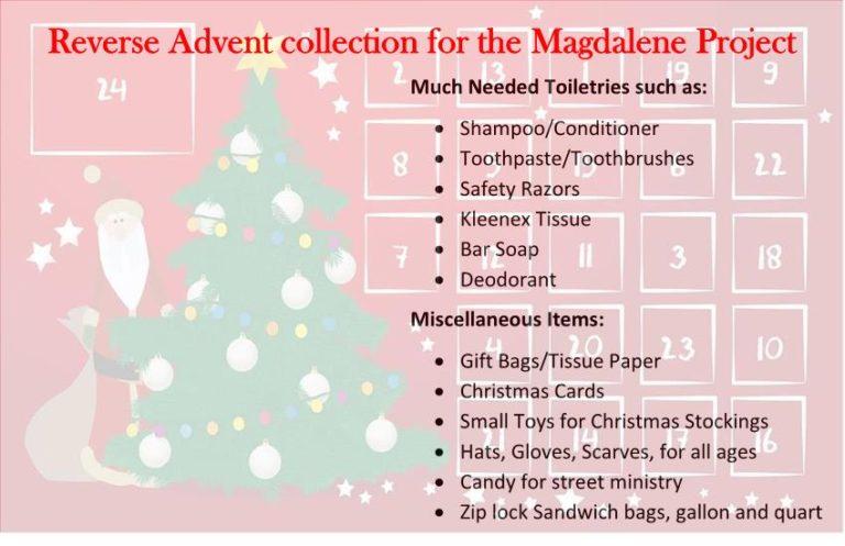 Magdalene advent